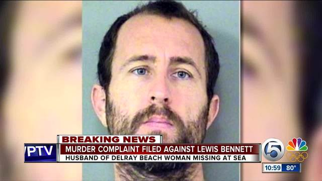 Husband of Florida woman who went missing at sea faces murder charge
