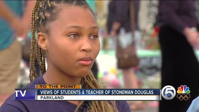 To The Point 2-20-18 Part 2- Marjory Stoneman Douglas High School…