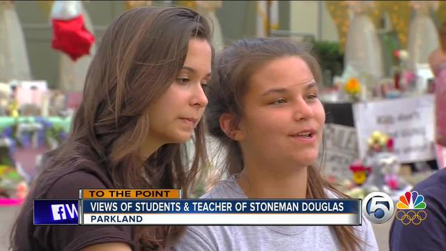 To The Point 2-20-18 Part 1- Marjory Stoneman Douglas High School…