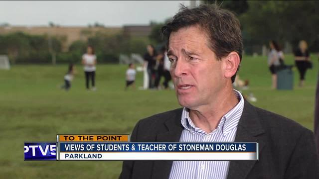 To The Point 2-20-18 Part 3- Marjory Stoneman Douglas High School…