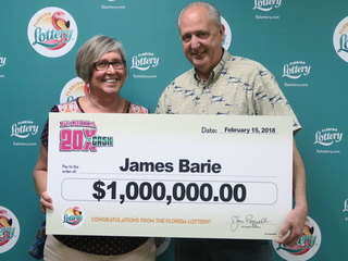 Florida Lottery scratch off nets Boca man $1M