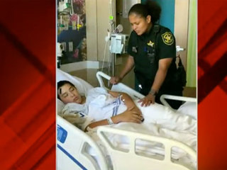 Deputy forms emotional bond with Parkland victim