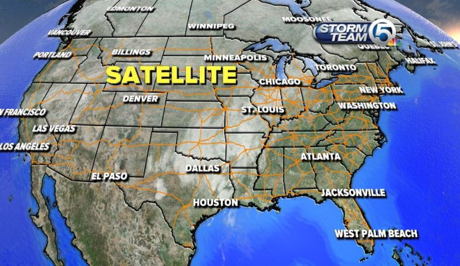 wednesday u0026 39 s weather word  satellite  u0026 radar