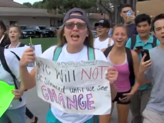 Boca students walk out of school in protest