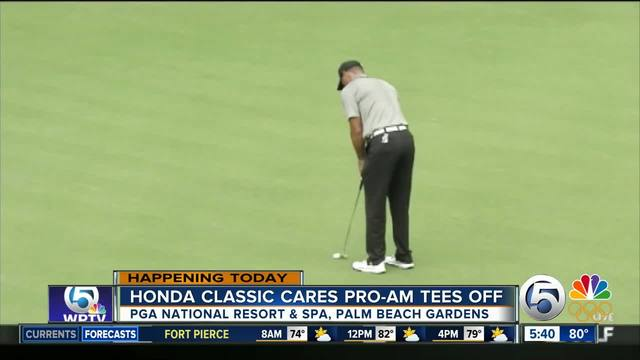 Honda Classic Pro-Am tees off Wednesday