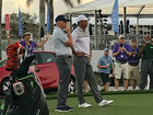 Tiger works on swing; Pro-Am Wednesday at Honda