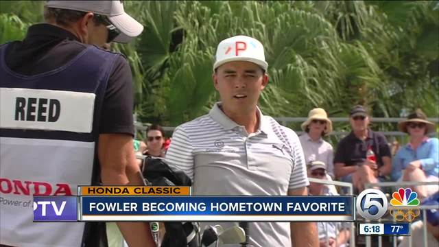 Rickie Fowler becoming hometown favorite in South Florida