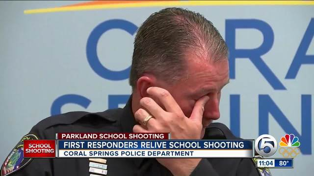 Was there a delay in response efforts to the school shooting?