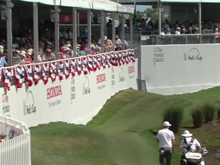 Where the action is at the Honda Classic