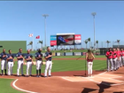 Opening day at Ballpark of the Palm Beaches