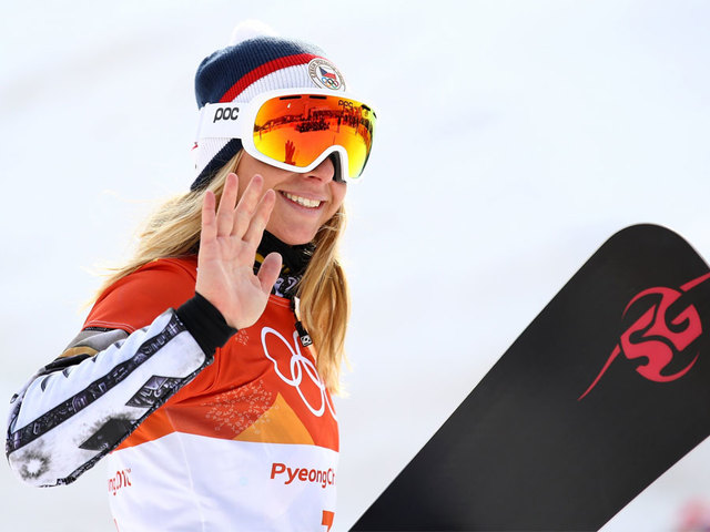 Czech Republic's Ester Ledecka makes Winter Olympic history