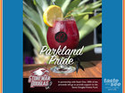 100% of cocktail proceeds to benefit victims