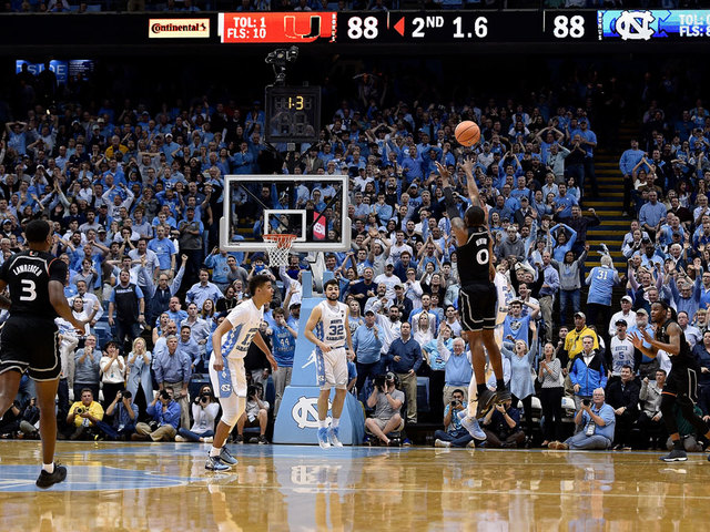 Despite loss, see the magic in UNC's senior night