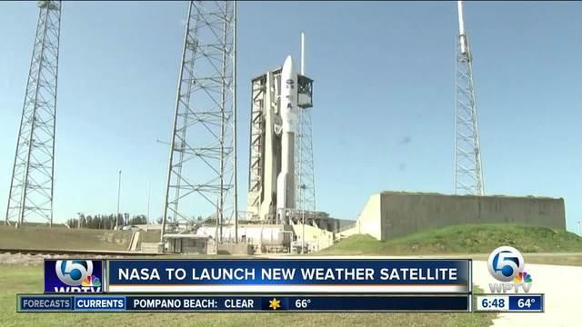 Weather satellite launched on Atlas V rocket