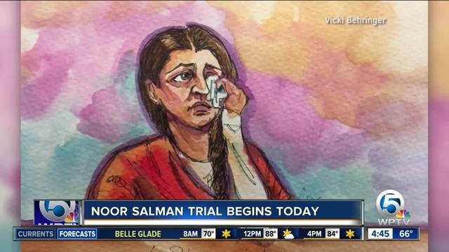 Noor Salman trial: No protesters outside courthouse as jury selection continues