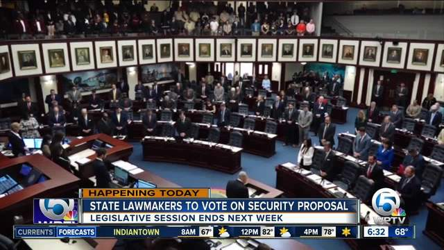 Florida Senate approves arming teachers, new restrictions on gun sales