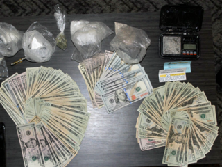 Sebastian police confiscate drugs, cash