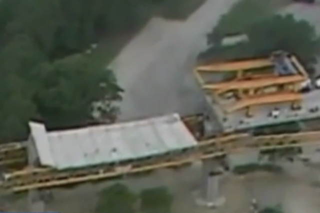 Video shows moment Florida bridge collapsed