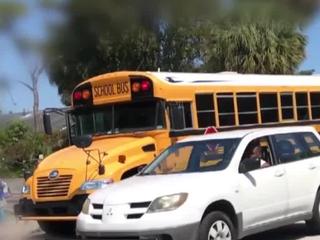 School bus driver faces disciplinary action
