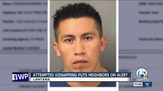 Kidnapping attempt leads to arrest