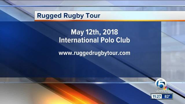 Rugged Rugby Tour in Wellington on May 12