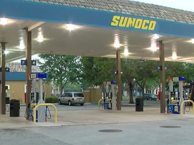 Vehicle with baby inside stolen at gas station
