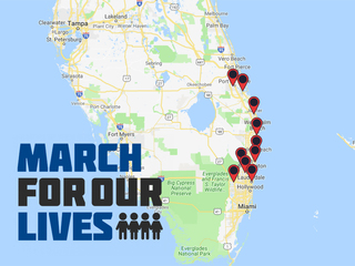 South Florida March for Our Lives events