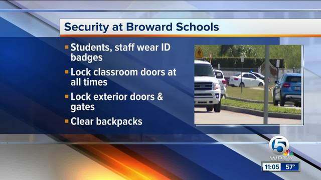 Clear backpacks- other security changes made at Stoneman Douglas High School
