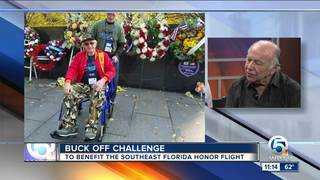 'Buck Off Challenge' to benefit veterans