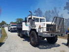 Homes evacuated for wildfire in Port St. Lucie