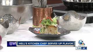 'Hell's Kitchen' winner serves up crab cakes