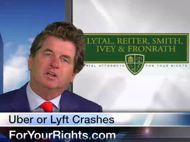 What if your Uber or Lyft gets into a crash?