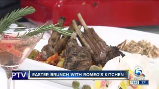 Easter brunch with Romeo's
