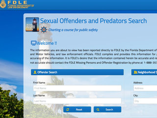 Sexual predators website