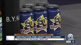 Saturday is National Beer Day