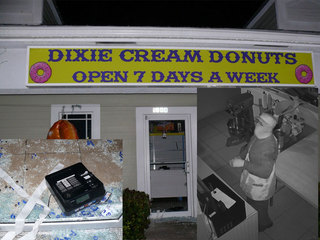 Clumsy thief breaks into St. Lucie donut shop