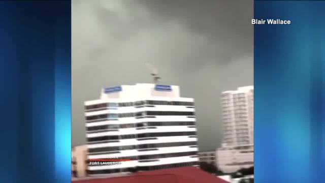 Tornadoes spotted in Fort Lauderdale as severe storms swept through Broward