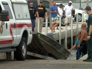 7 rescued as boat takes on water in West Palm