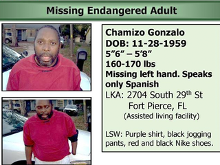 Man missing from assisted living facility