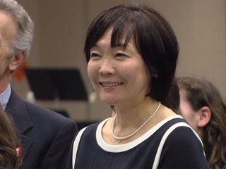 Japanese PM's wife meets with Boca students