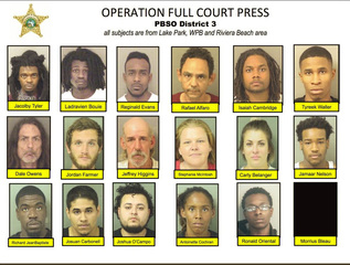 PBSO: 32 arrested in northern PBC operation