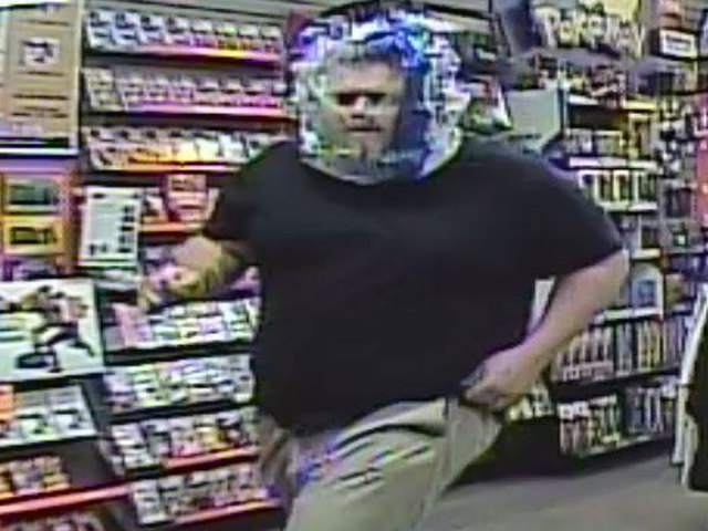 Man attempts robbery with plastic bag over head