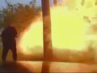 VIDEO: Home explodes after SUV crashes in Texas