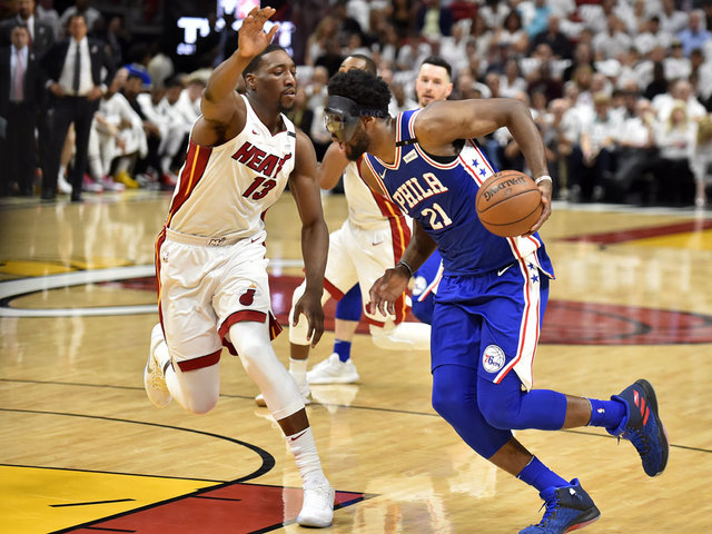 Joel Embiid Listed As 'Probable' For Game 3 Against Heat