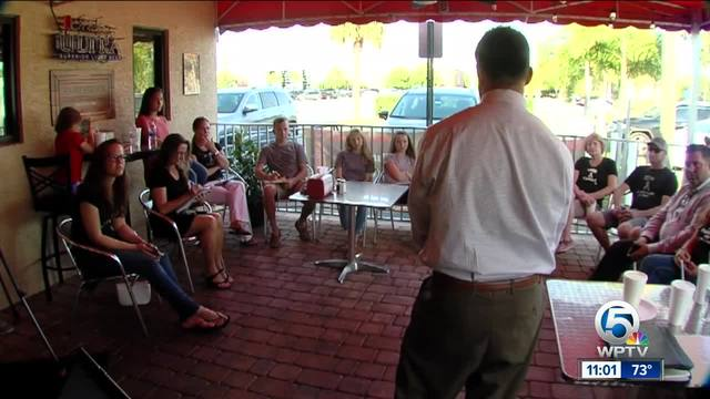 GBM patients, families meet with health dept.