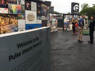 Interim memorial opens for 49 killed at Pulse