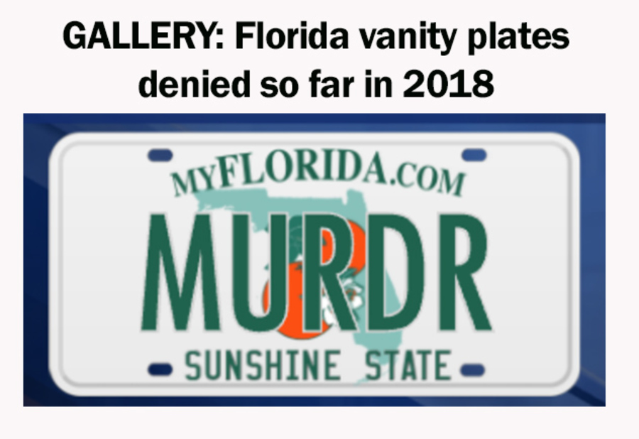 License plate frames: If any word is covered, your license plate ...