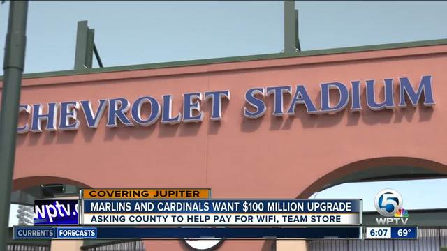 -100 million renovations proposed for Roger Dean Stadium