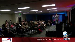 Local celebrity gives motivational speech
