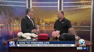Advice on performing CPR